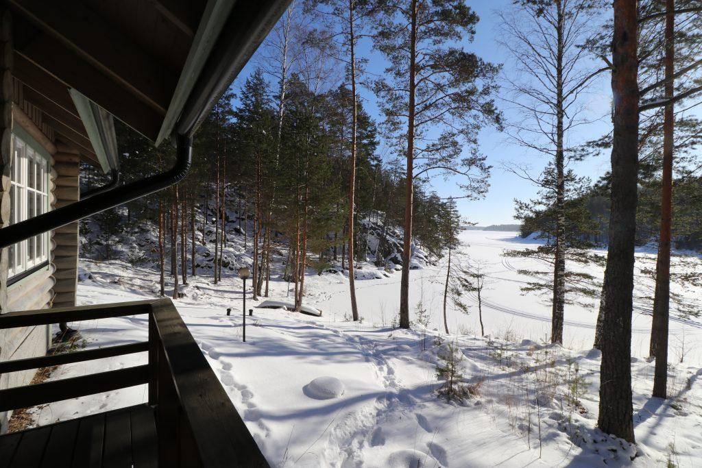 Lahukka winter view